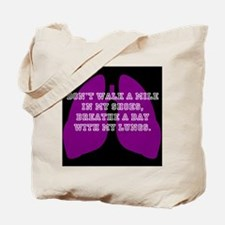 Breathe A Day Tote Bag