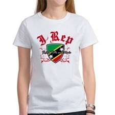 I Rep St Kitts Tee