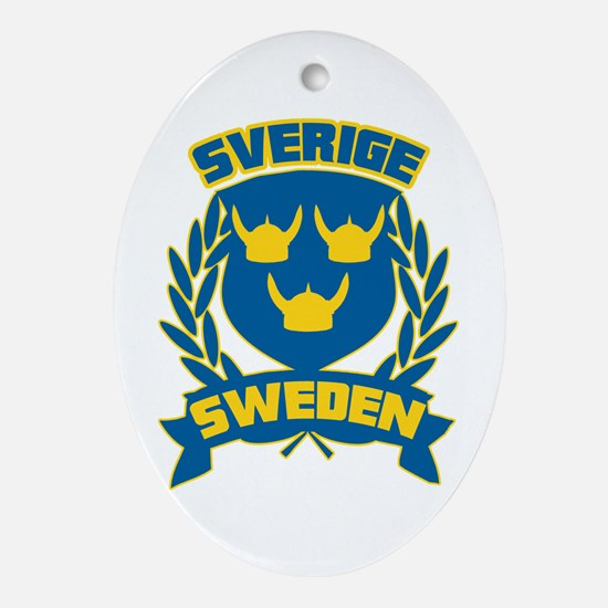 Swedish Ornament (Oval)