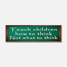 Teach Children How Car Magnet 10 x 3