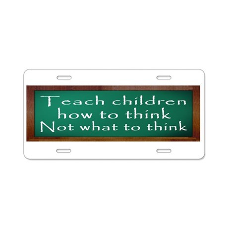 Teach Children How Aluminum License Plate