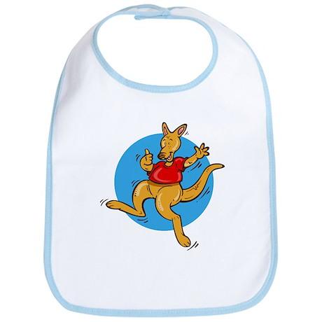 Happy Kangaroo - Bib