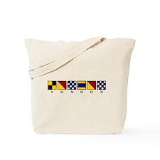 Nautical London Tote Bag