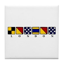 Nautical London Tile Coaster