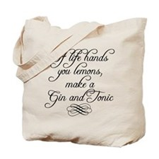 Life Hands Lemons Tote Bag