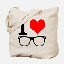 I love hipsters. Tote Bag