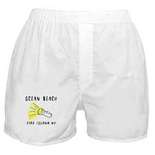 Ocean Beach Fire Island Boxer Shorts