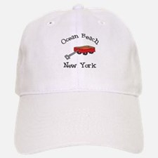 Ocean Beach Fire Island Baseball Baseball Cap