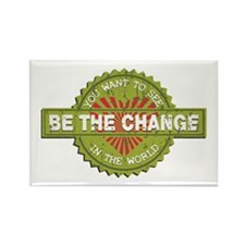 Be the Change Rectangle Magnet (100 pack)