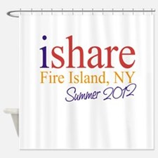 Fire Island Summer Share Shower Curtain