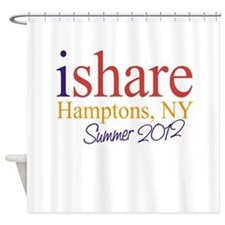 Hamptons Summer Share Shower Curtain