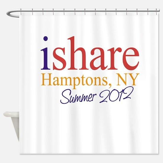 Hamptons Summer Share Shower Curtain