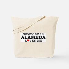Alameda: Loves Me Tote Bag