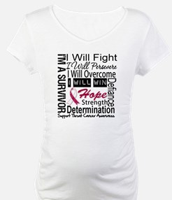 Throat Cancer Persevere Shirt