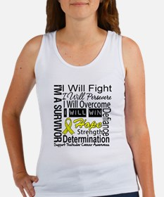 Testicular Cancer Persevere Women's Tank Top