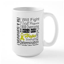 Testicular Cancer Persevere Mug