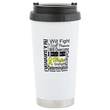 Testicular Cancer Persevere Travel Mug
