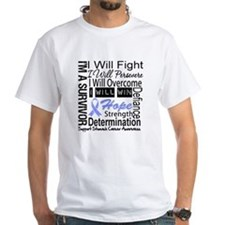 Stomach Cancer Persevere Shirt