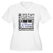 Stomach Cancer Persevere T-Shirt