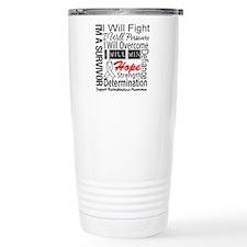 Retinoblastoma Persevere Travel Mug