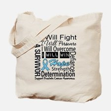 Prostate Cancer Persevere Tote Bag