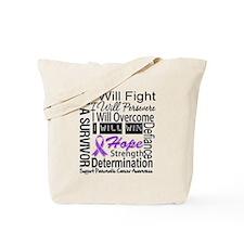 Pancreatic Cancer Persevere Tote Bag