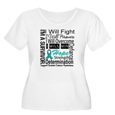 Ovarian Cancer Persevere Shirts T-Shirt