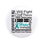 Ovarian Cancer Persevere Shirts 3.5