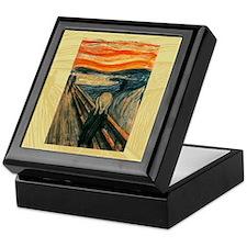 Edvard Munch The Scream Keepsake Box
