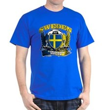 Sweden European fotboll 2012 T-Shirt