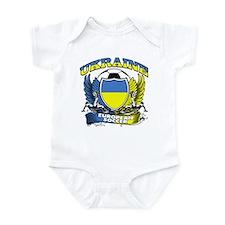 Ukraine Football Soccer Infant Bodysuit