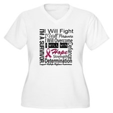 Multiple Myeloma Persevere T-Shirt