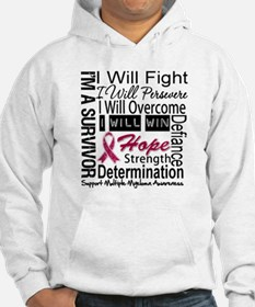 Multiple Myeloma Persevere Jumper Hoody
