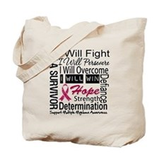 Multiple Myeloma Persevere Tote Bag