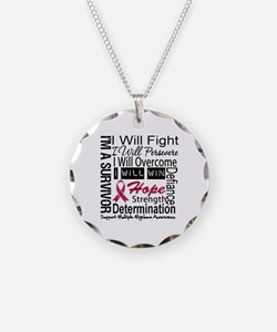 Multiple Myeloma Persevere Necklace