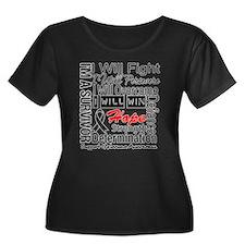 Melanoma Cancer Persevere Shirts T