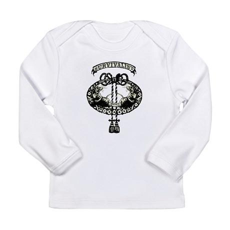 survivalist Long Sleeve Infant T-Shirt