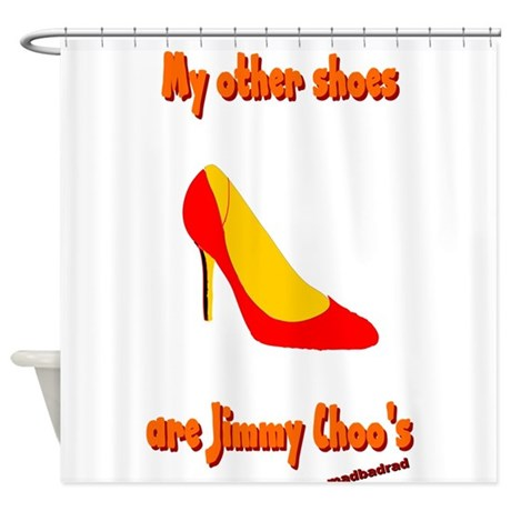Other Shoes Jimmy Choos 6000.png Shower Curtain
