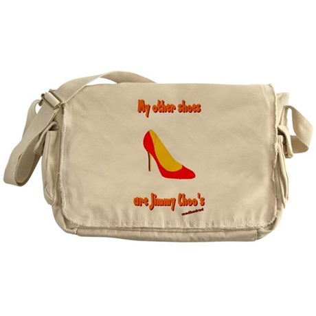 Other Shoes Jimmy Choos 6000.png Messenger Bag