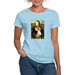 Mona Lisa - Basenji #1 Women's Light T-Shirt