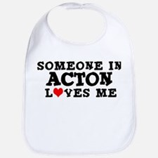 Acton: Loves Me Bib