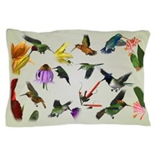 Hummingbirds of the Americas Pillow Case
