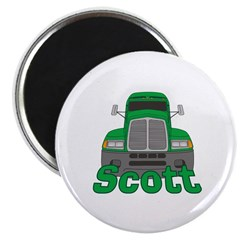 Trucker Scott Magnet