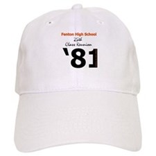 Fenton Class of '81 25th Baseball Cap