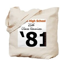 Fenton Class of '81 25th Tote Bag