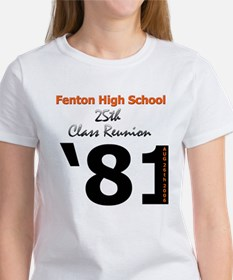 Fenton Class of '81 25th Women's T-Shirt