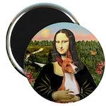 Mona Lisa - Basenji #1 Magnet