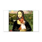Mona Lisa - Basenji #1 22x14 Wall Peel