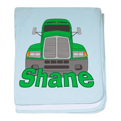 Trucker Shane baby blanket