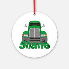 Trucker Shane Ornament (Round)